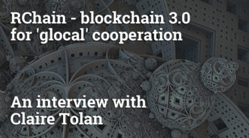 RChain – a blockchain 3.0 framework for 'glocal' cooperation