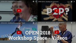 OPEN 2018 Videos – Workshop Space sessions